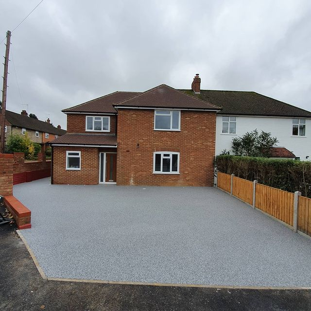 Resin Driveways In Bedfordshire